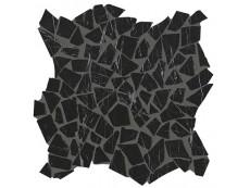 Мозаика Fap Ceramiche Roma Diamond Nero Reale Schegge Mosaico 30x30 см