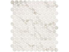 Мозаика Fap Ceramiche Roma Calacatta Mosaico Round 29,5x32,5 см
