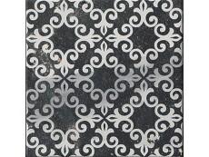 Декор Fap Ceramiche Roma Deco Statuario Grafite Matt 20x20 см