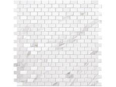 Мозаика Fap Ceramiche Roma Statuario Brick Mosaico 30x30 см