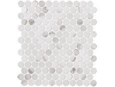 Мозаика Fap Ceramiche Roma Statuario Mosaico Round 29,5x32,5 см