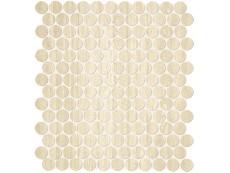Мозаика Fap Ceramiche Roma Travertino Mosaico Round 29,5x32,5 см