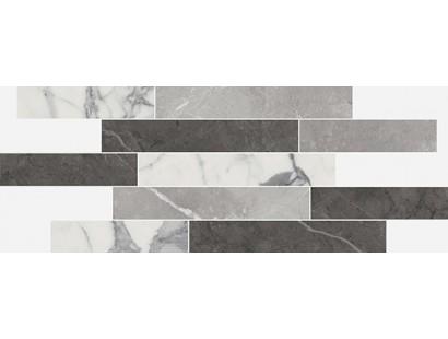 Декор Italon Charme Evo Floor Statuario Brick Multicolor 29,6x79,6 см