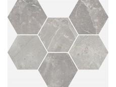 Мозаика Italon Charme Evo Floor Imperiale Mosaico Hexagon 25x29 см
