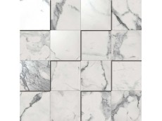 Мозаика Italon Charme Evo Floor Statuario Mosaico 3D 30x30 см