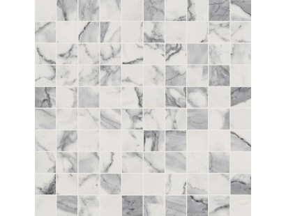 Мозаика Италон Шарм Эво Статуарио 30,5x30,5 см