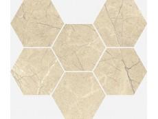 Мозаика Italon Charme Extra Floor Arcadia Mosaico Hexagon 25x29 см