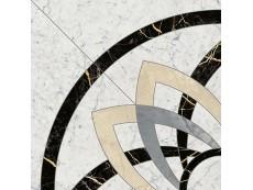 Декор Italon Charme Extra Floor Carrara Rosone Angolo 59x59 см