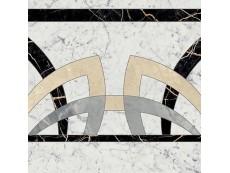 Декор Italon Charme Extra Floor Carrara Rosone Fascia 59x59 см