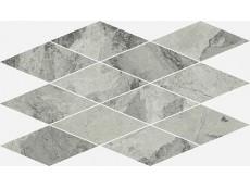 Мозаика Italon Charme Extra Floor Silver Mosaico Diamond 28x48 см