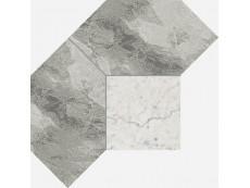 Мозаика Italon Charme Extra Floor Silver Mosaico Polygon 28,5x21 см