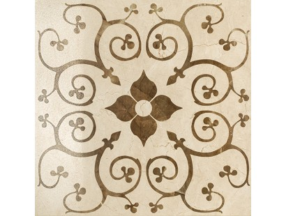 Декор Italon Charme Floor Cream Inserto Bouquet Lux/Ret 59x59 см