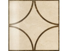 Декор Italon Charme Floor Cream Inserto Loop Lap/Ret 60x60 см