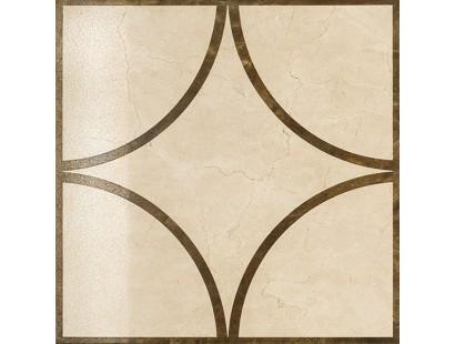 Декор Italon Charme Floor Cream Inserto Loop Lux/Ret 59x59 см