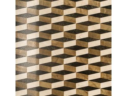 Декор Italon Charme Floor Cream Inserto Optic Lux/Ret 59x59 см