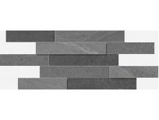 Керамогранит Italon Contempora Carbon Brick 3D 28x78 см