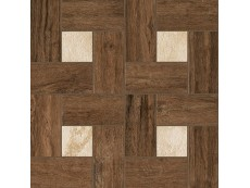 Декор Italon Natural Life Wood Pepper Inserto Glamour 45x45 см