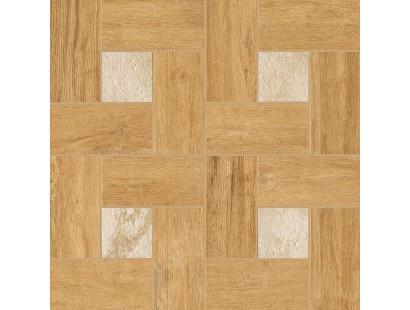 Декор Italon Natural Life Wood Vanilla Inserto Glamour 45x45 см