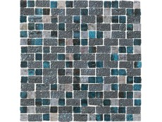Мозаика Naxos Raku Mosaico Spaccatella Turquoise 30,5x30,5 см