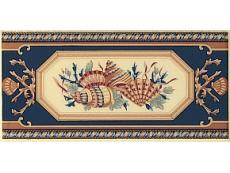 Декор Petracers Grand Elegance Conchiglie su Crema 10x20 см
