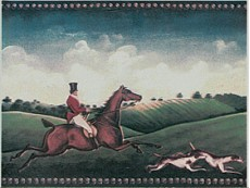 Декор Petracers Grand Elegance Fox Hunting A (One Rider) 15x20 см