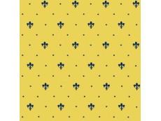 Плитка Petracers Grand Elegance Giglio Blu su Giallo Ocra 20x20 см