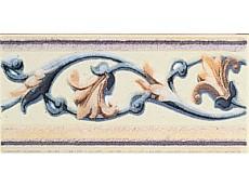 Декор Petracers Grand Elegance Giglio Policromo su Panna 10x20 см