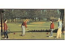Декор Petracers Grand Elegance Golf A (Green) 10x20 см