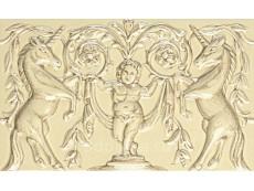 Декор Petracers Grand Elegance Unicorni Crema A 12,5x20 см
