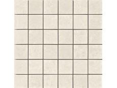 Мозаика Serenissima Costruire Metallo Bianco 30x30 см