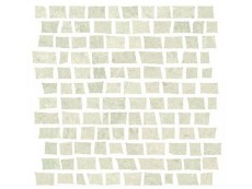 Мозаика Serenissima Costruire Random Metallo Bianco 30x30 см
