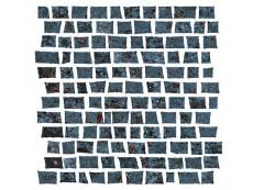 Мозаика Serenissima Costruire Random Metallo Nero 30x30 см
