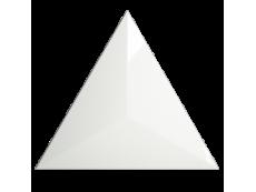 Плитка ZYX Evoke Triangle Level White Glossy 15x17 см
