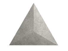 Плитка ZYX Evoke Triangle Level Cement 15x17 см