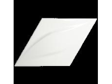 Плитка ZYX Evoke Diamond Blend White Glossy 15x25,9 см