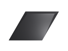 Плитка ZYX Evoke Diamond Drop Black Matt 15x25,9 см