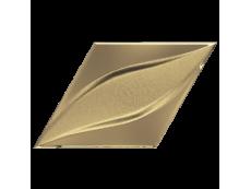 Плитка ZYX Evoke Diamond Blend Gold Laser Glossy 15x25,9 см