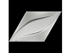 Плитка ZYX Evoke Diamond Blend Silver Laser Glossy 15x25,9 см