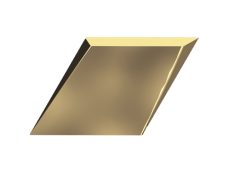 Плитка ZYX Evoke Diamond Drop Gold Glossy 15x25,9 см