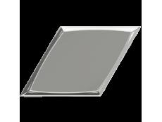 Плитка ZYX Evoke Diamond Zoom Silver Glossy 15x25,9 см