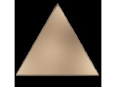 Плитка ZYX Evoke Triangle Layer Copper Glossy 15x17 см