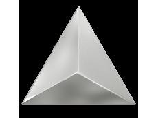Плитка ZYX Evoke Triangle Level Silver Laser Glossy 15x17 см
