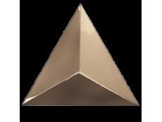 Плитка ZYX Evoke Triangle Level Copper Laser Glossy 15x17 см