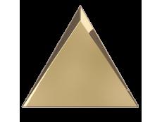 Плитка ZYX Evoke Triangle Cascade Gold Glossy 15x17 см