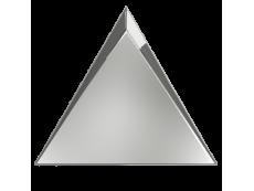 Плитка ZYX Evoke Triangle Cascade Silver Glossy 15x17 см