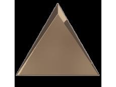 Плитка ZYX Evoke Triangle Cascade Copper Glossy 15x17 см