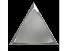 Плитка ZYX Evoke Triangle Channel Silver Glossy 15x17 см