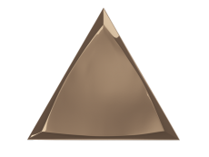 Плитка ZYX Evoke Triangle Channel Copper Glossy 15x17 см
